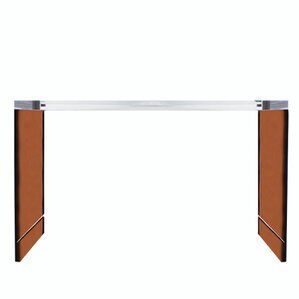 seymour acrylic console table