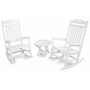 White Patio Rocking Chairs U0026 Gliders Youu0027ll Love | Wayfair