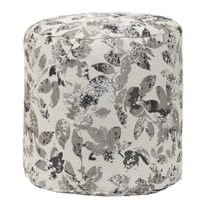 Foliage Tapestry Pouf Ottoman by American Furniture Classics