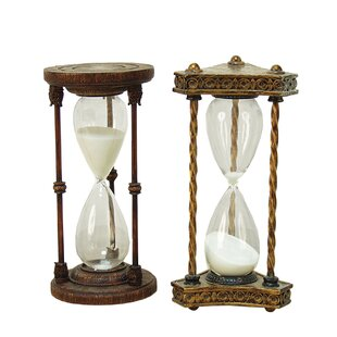 Hourglass Sand Timers Youll Love Wayfair - Decorative-hourglass