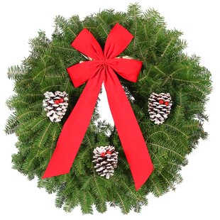 fresh classic 25 balsam fir wreath