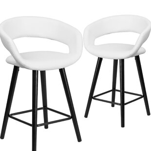 Palafox 24 Bar Stool (Set of 2) Orren Ellis