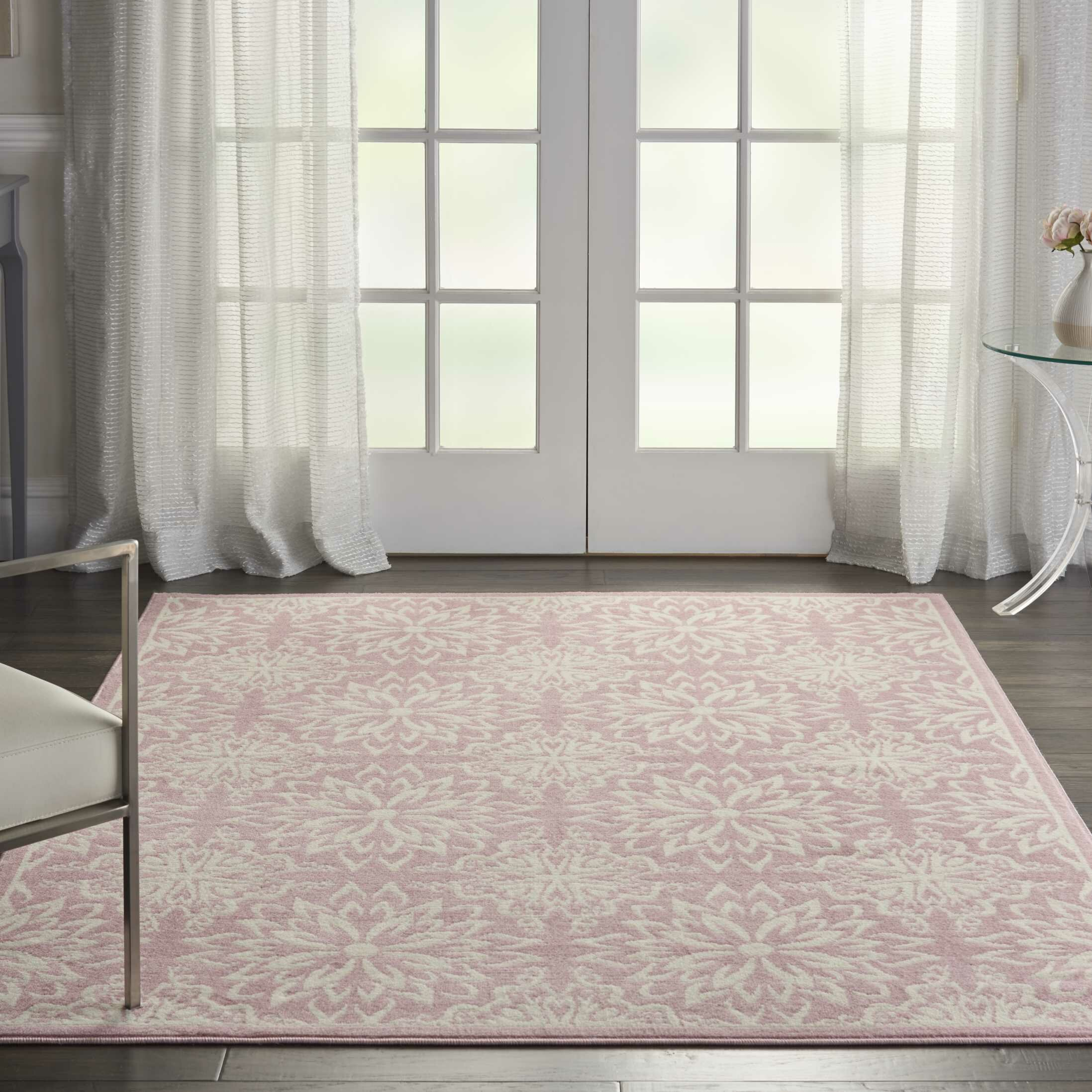 Waverly Baby Floral Ivory Pink Area Rug Reviews Wayfair