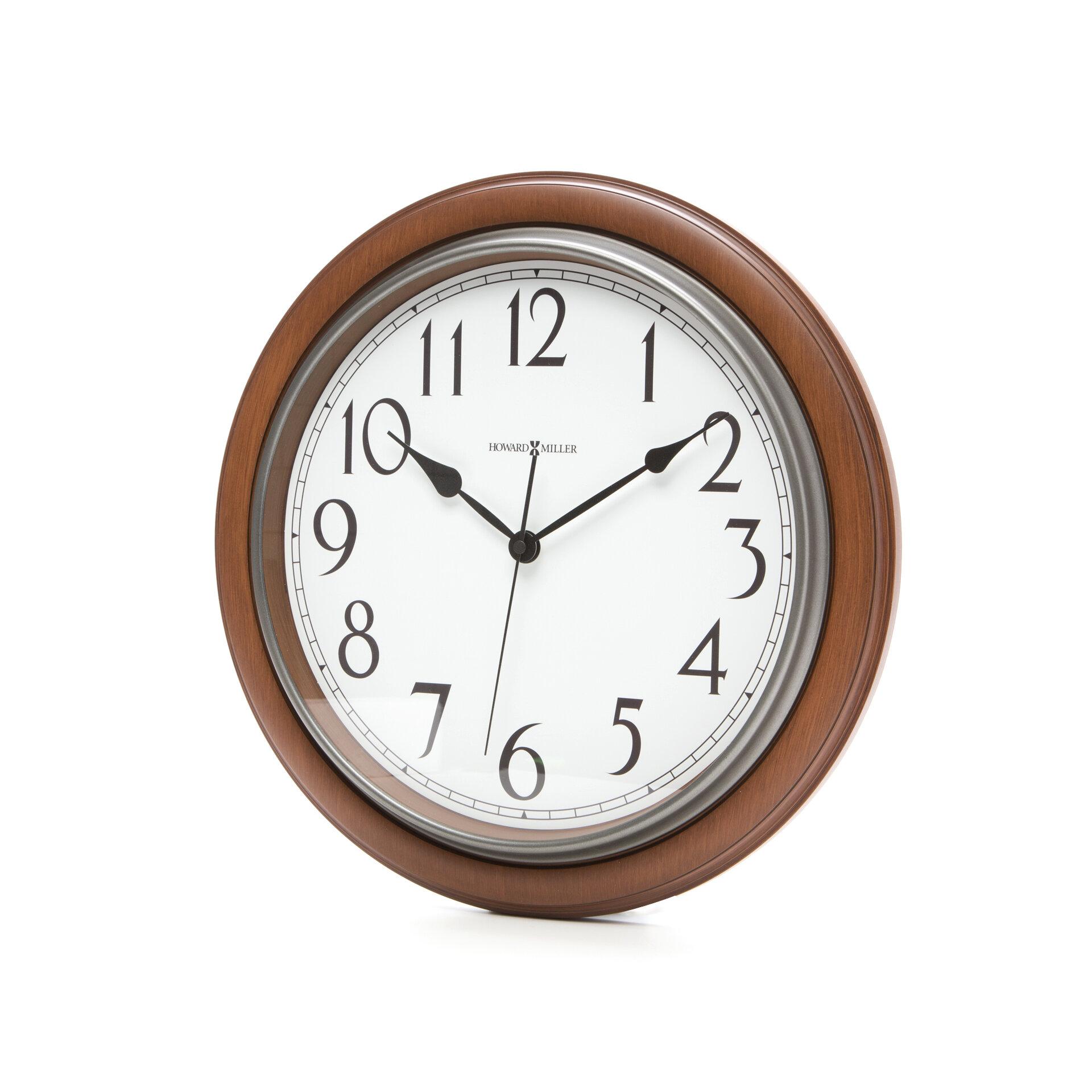 Large Vintage Wall Clock Wayfair
