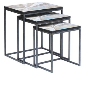 Kyree 3 Piece Nesting Tables by Brayden Studio