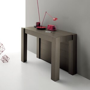 Marsala Convertible Console Table