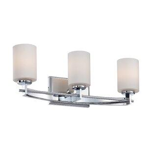 Check Prices Burchell 3-Light Vanity Light By Latitude Run