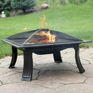 Herculaneum Campfire On The Go Steel Wood Burning Fire Pit