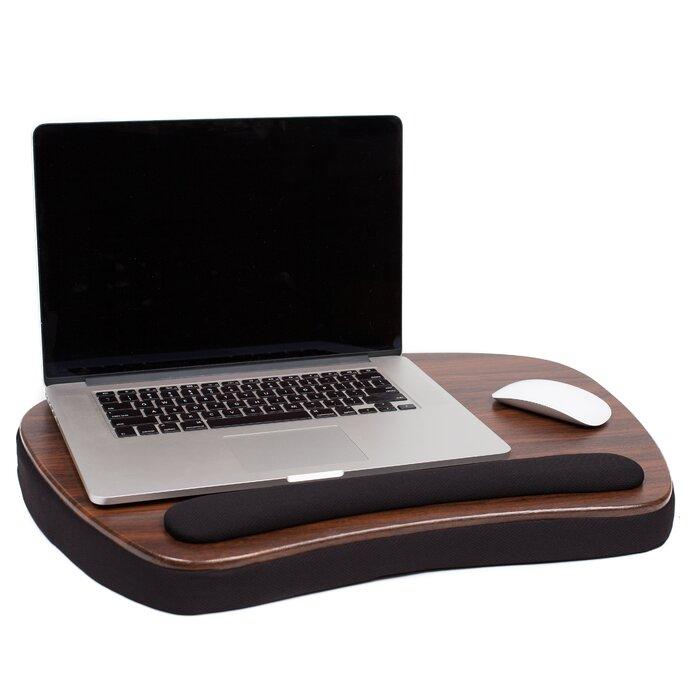 Sofia Sam Oversized Memory Foam Lap Desk With Wrist Rest
