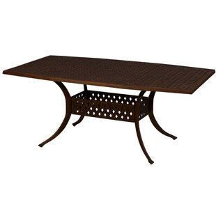 Aldrich Octagon Aluminum Dining Table
