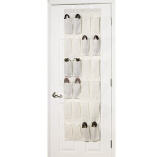 Clearance 24 Pocket 24 Pair Overdoor Shoe Organizer By Household Essentials