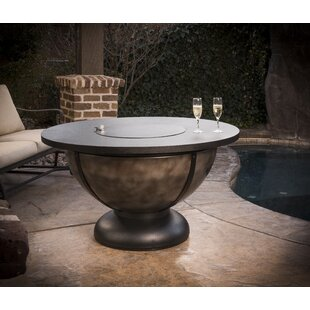 Onyx Steel Natural Gas Fire Pit Table