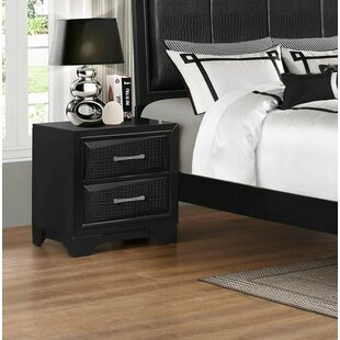 Find a Oona 2 Drawer Nightstand by Wrought Studio