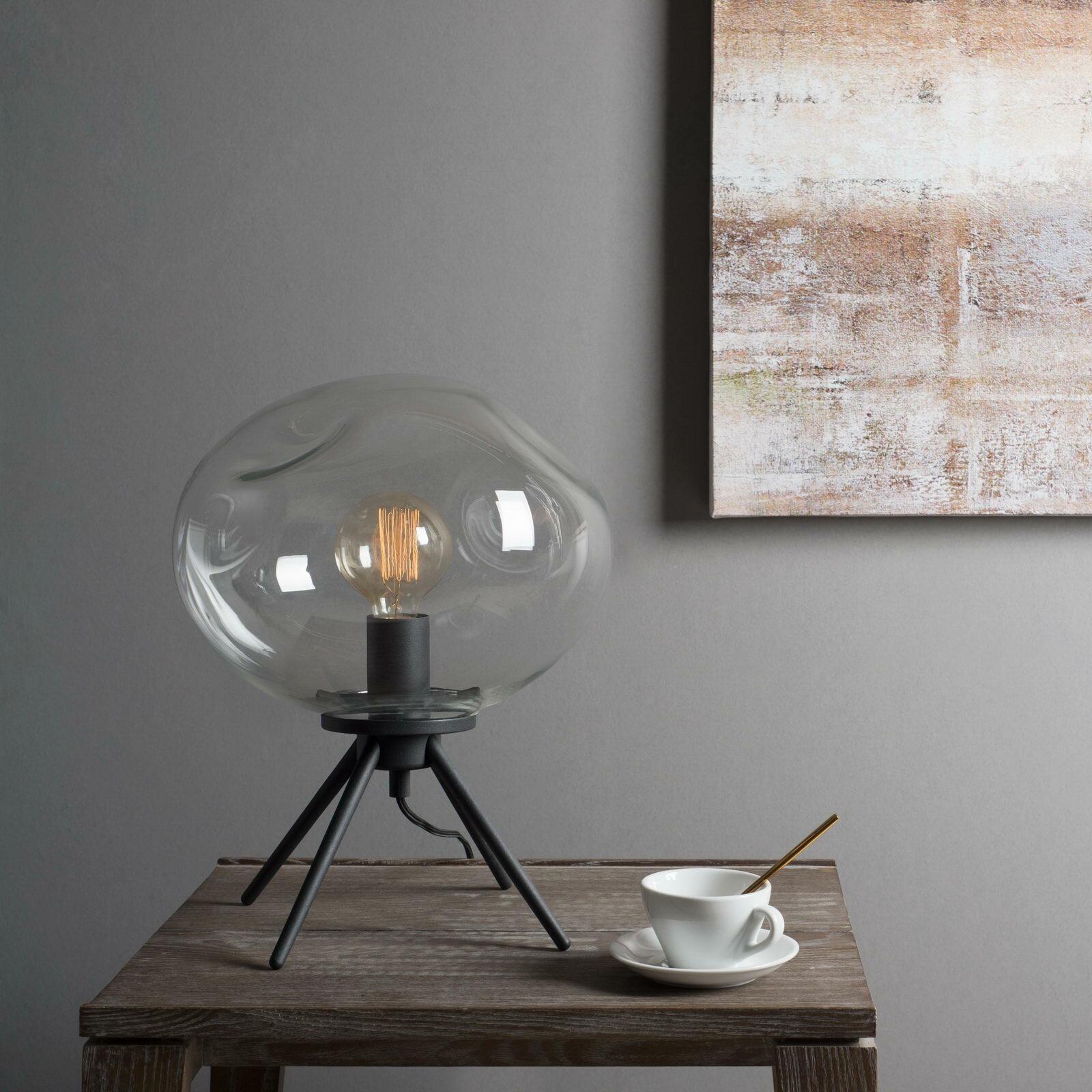 Casamotion Handblown Glass Organic Uplight 80 Table Lamp Reviews Wayfair
