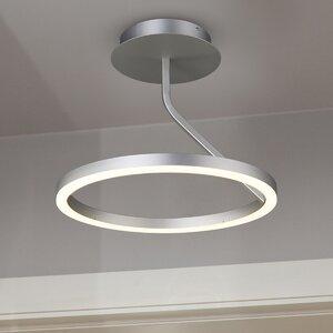 Zuben INTEGRATED LED LIGHT Semi Flush Mount
