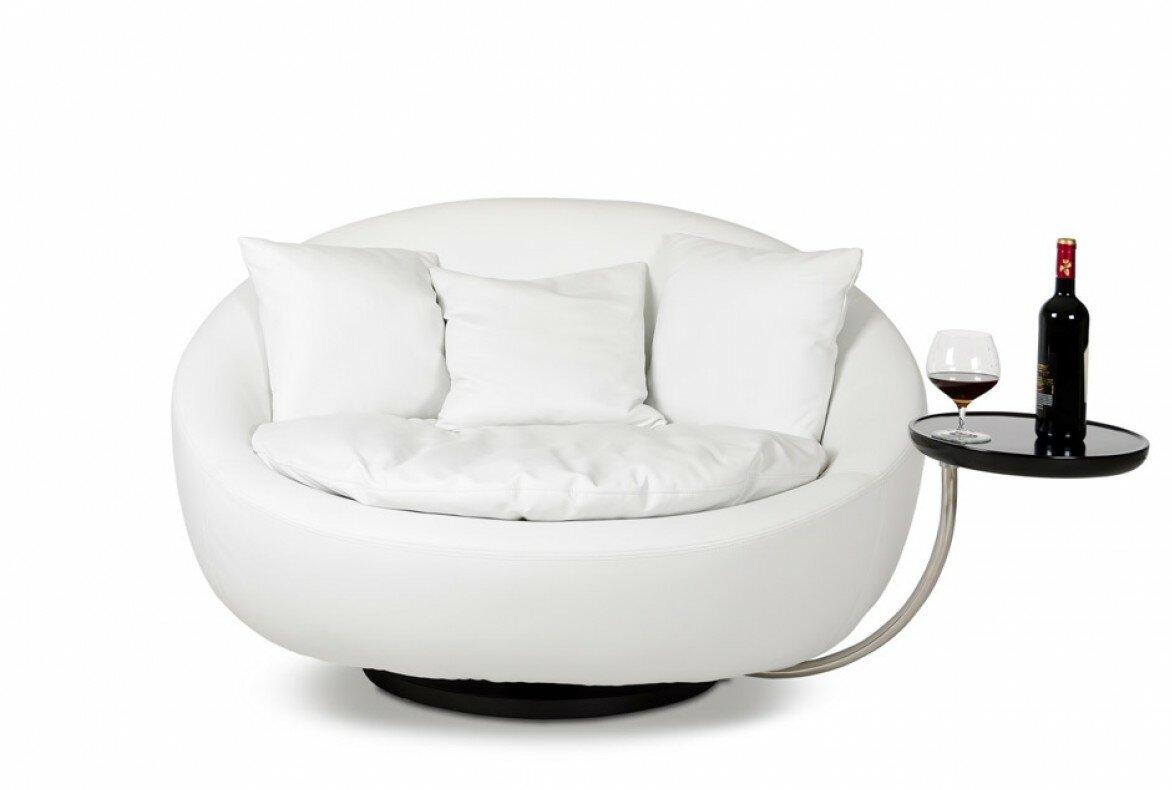 Orren Ellis Coalpit Heath Swivel Barrel Chair \u0026 Reviews | Wayfair