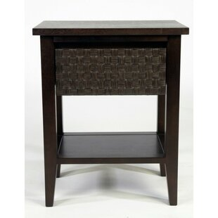 Dalessandro 1 Drawer Nightstand by Brayden Studio