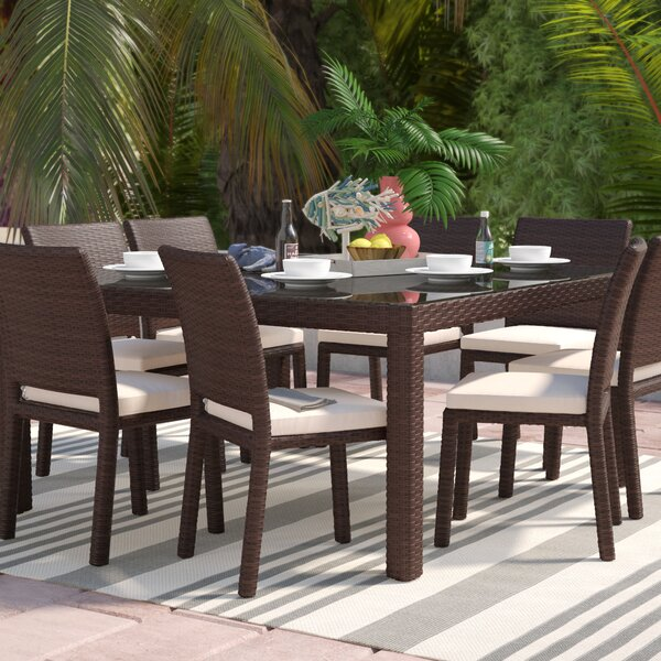 outdoor patio dining furniture sets. aquia creek 9 piece dining set outdoor patio furniture sets