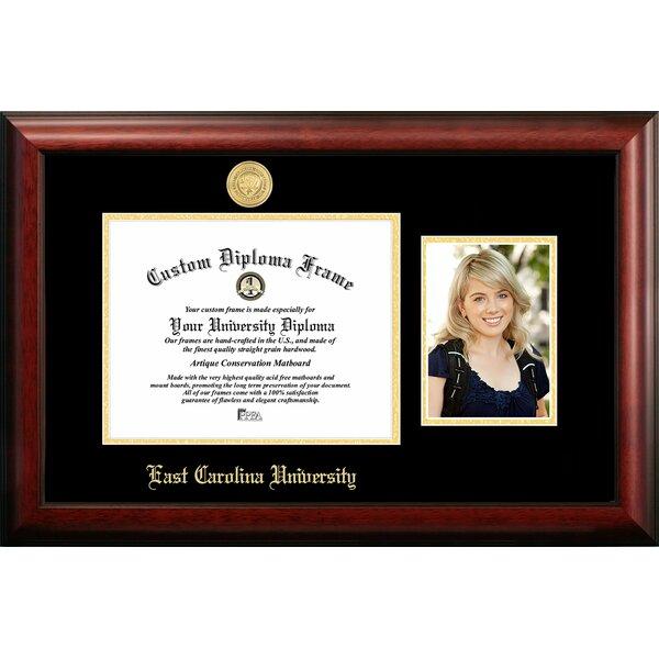 Campus Images East Carolina University Embossed Diploma Picture Frame Wayfair