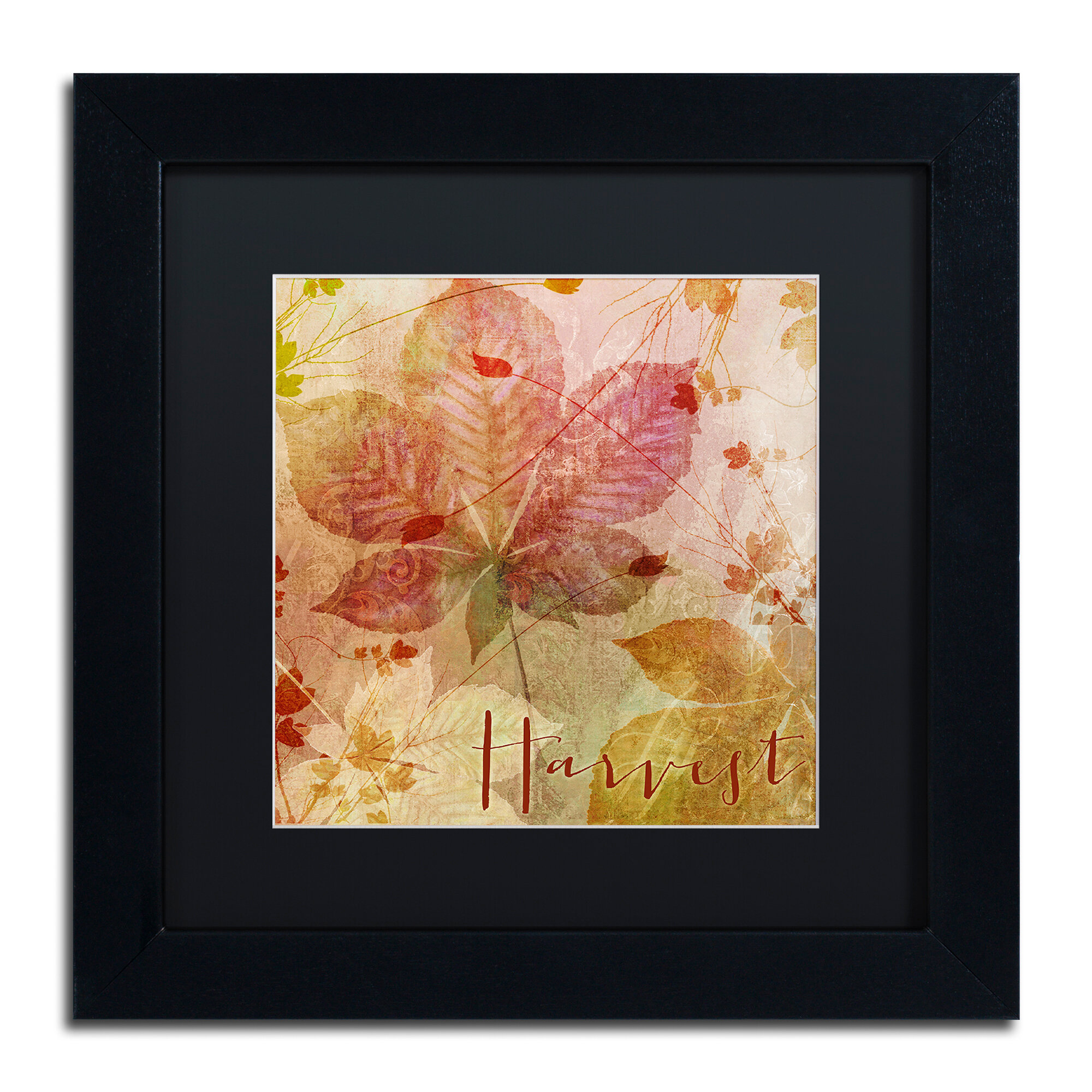 Trademark Art October Pastel I By Color Bakery Framed Graphic Art Wayfair