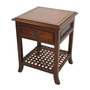 Savings 1 Drawer Nightstand (Set of 2) by New World Trading