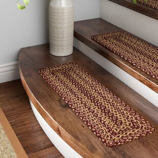 Allerton Red Brown Stair Tread