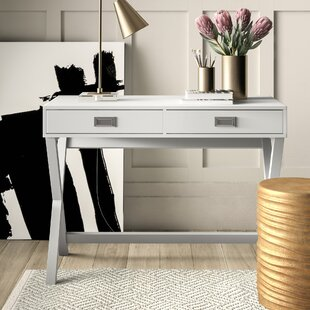 Bequette Solid Wood Writing Desk