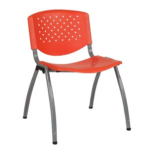 Armless Stacking Chair by Offex