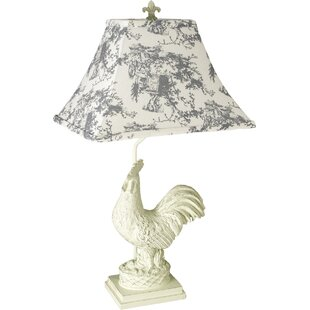 Affordable Price Guilford Rooster 25 Table Lamp By Ophelia & Co.