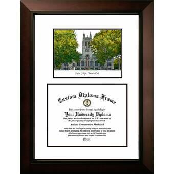 Campus Images Ncaa Utc Mocs Legacy Scholar Diploma Frame Wayfair