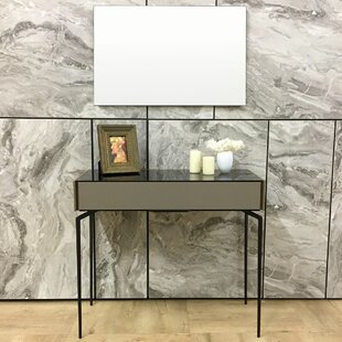 Fawley Console Table And Mirror Set by Ivy Bronx Coupon