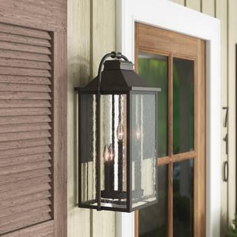 Charlton Home Duong Outdoor Wall Lantern Wayfair