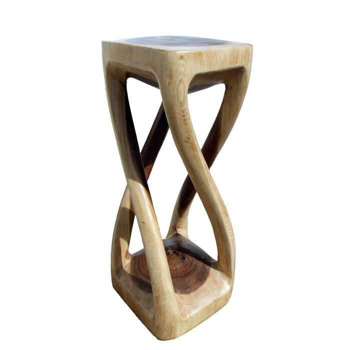 Sensational Four Legged Twist Accent Stool Ibusinesslaw Wood Chair Design Ideas Ibusinesslaworg