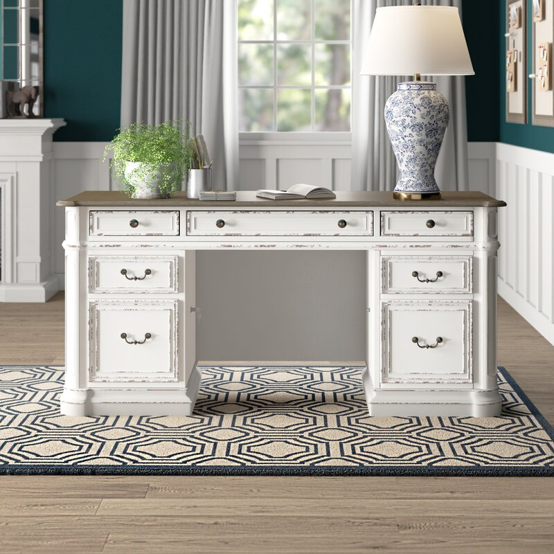 Salinas Credenza Desk by Birch Lane™ Heritage