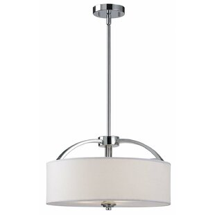 Kearse 3-Light Drum Chandelier