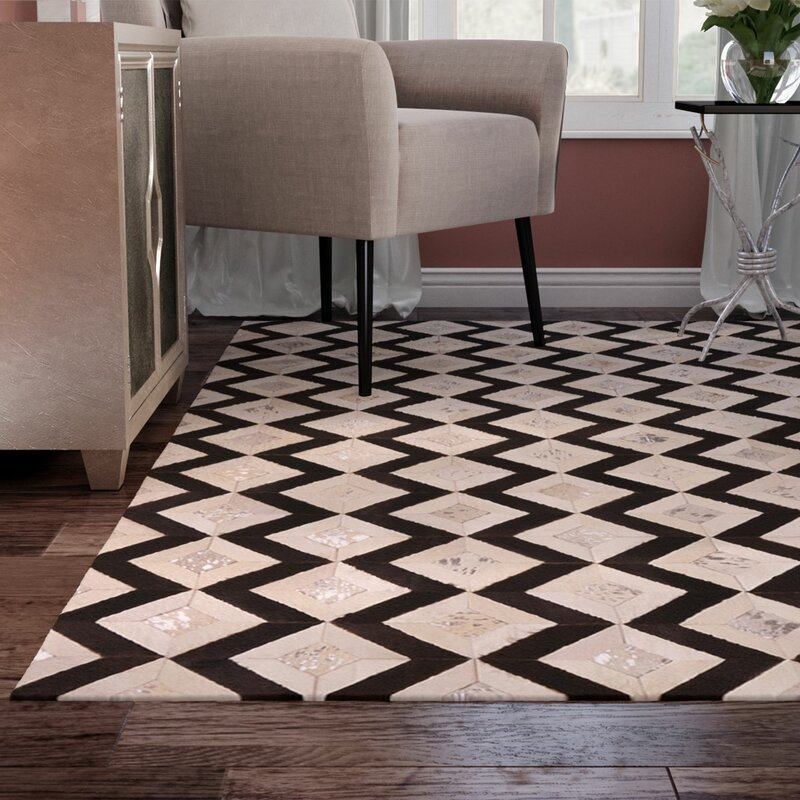 Mercer41 David Black Cream Area Rug Wayfair