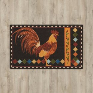 Comparison Andora Black Rooster Area Rug By August Grove