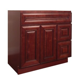 "Compare & Buy Maple 36"" Single Bathroom Vanity Base Only By NGY Stone & Cabinet"