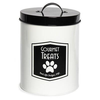 Parmer Tin 140 Oz. Food Storage Container Tucker Murphy Pet