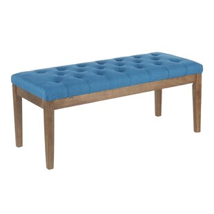 Hartfo Wood Bench by Andover Mills