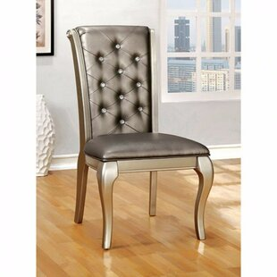 Bucknell Solid Wood Upholstered Dining Chair (Set of 2)
