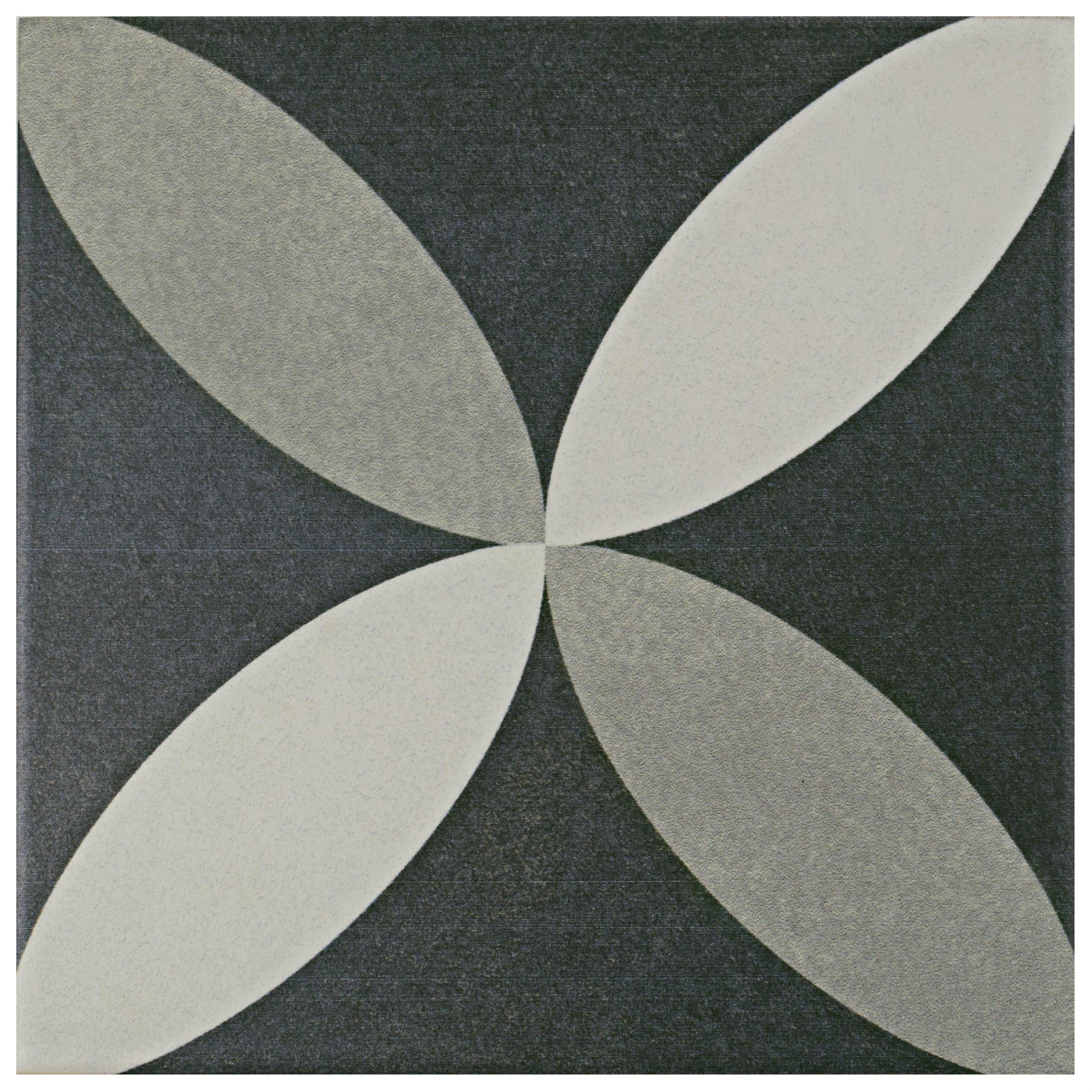 Elitetile allmodern forties 775 x 775 ceramic field tile in petal gray dailygadgetfo Choice Image