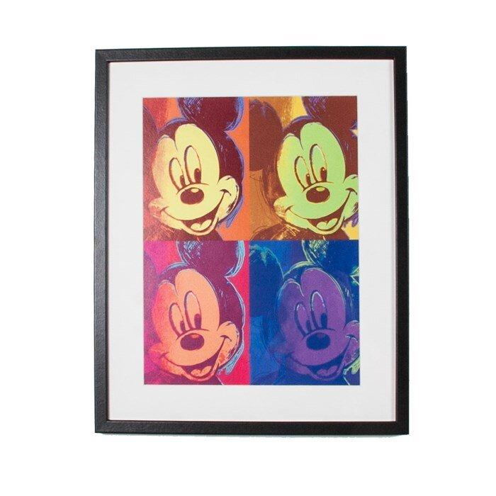 Graham & Brown Mickey Pop Disney Framed Graphic Art | Wayfair.co.uk