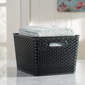 Wayfair Basics Plastic Storage Bin