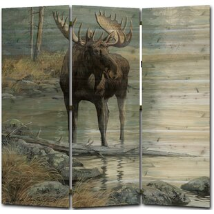 Quiet Water 3 Panel Room Divider By WGI-GALLERY