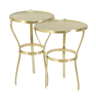 Varennes 2 Piece Nesting Tables by Rosdorf Park