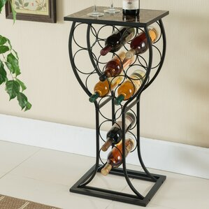 Call 11 Bottle Floor Wine Rack by Red Barrel Studio