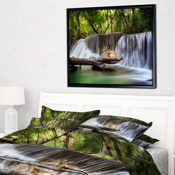 Moving Waterfall Picture | Wayfair