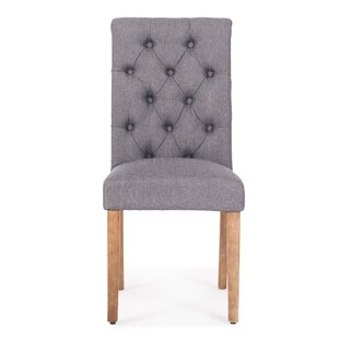 Odelina Button Tufted Upholstered Dining Chair (Set Of 2) by Ophelia & Co. Great price