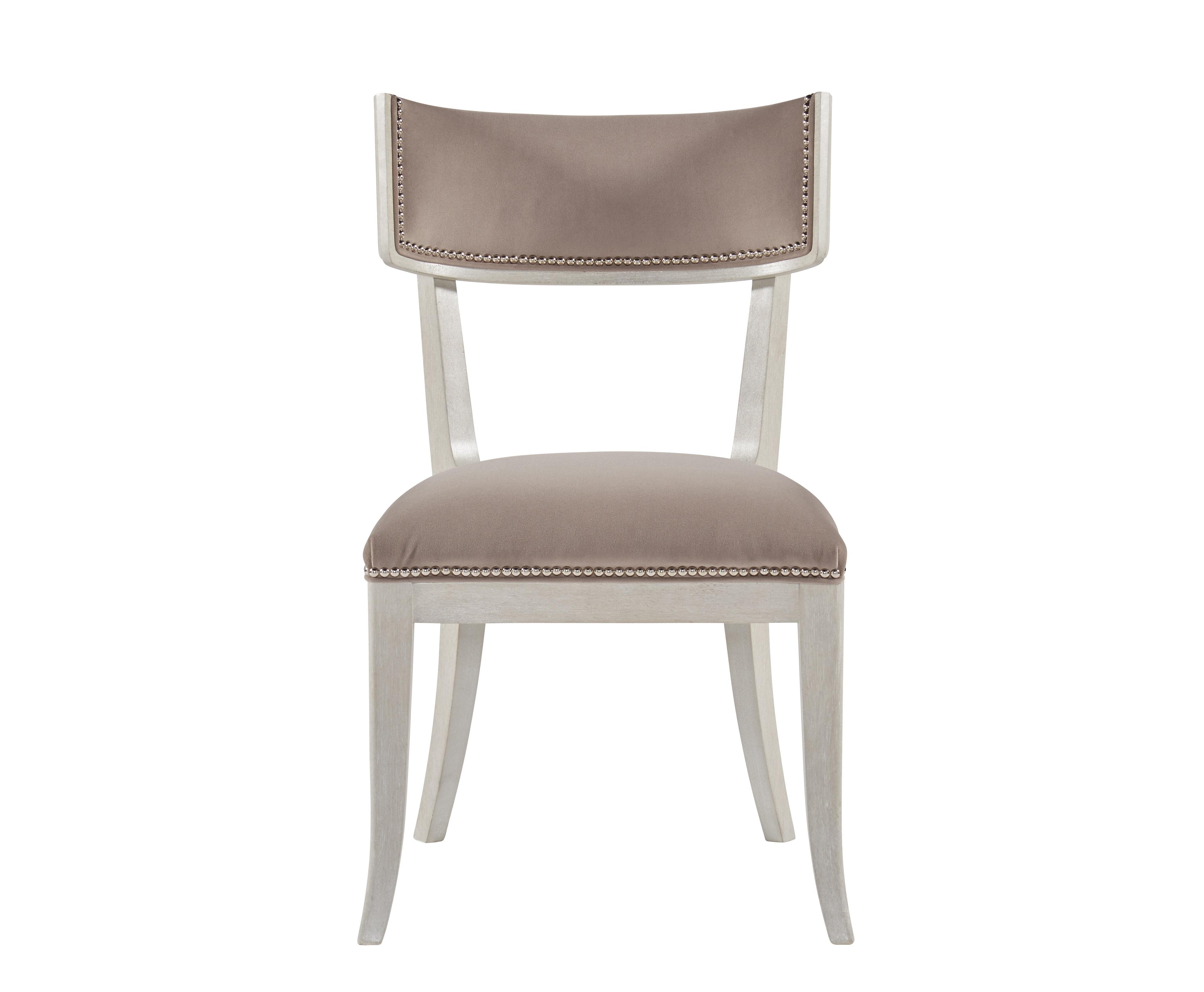 Rosdorf Park Kibler Upholstered Ladder Back Side Chair In Ivory Wayfair